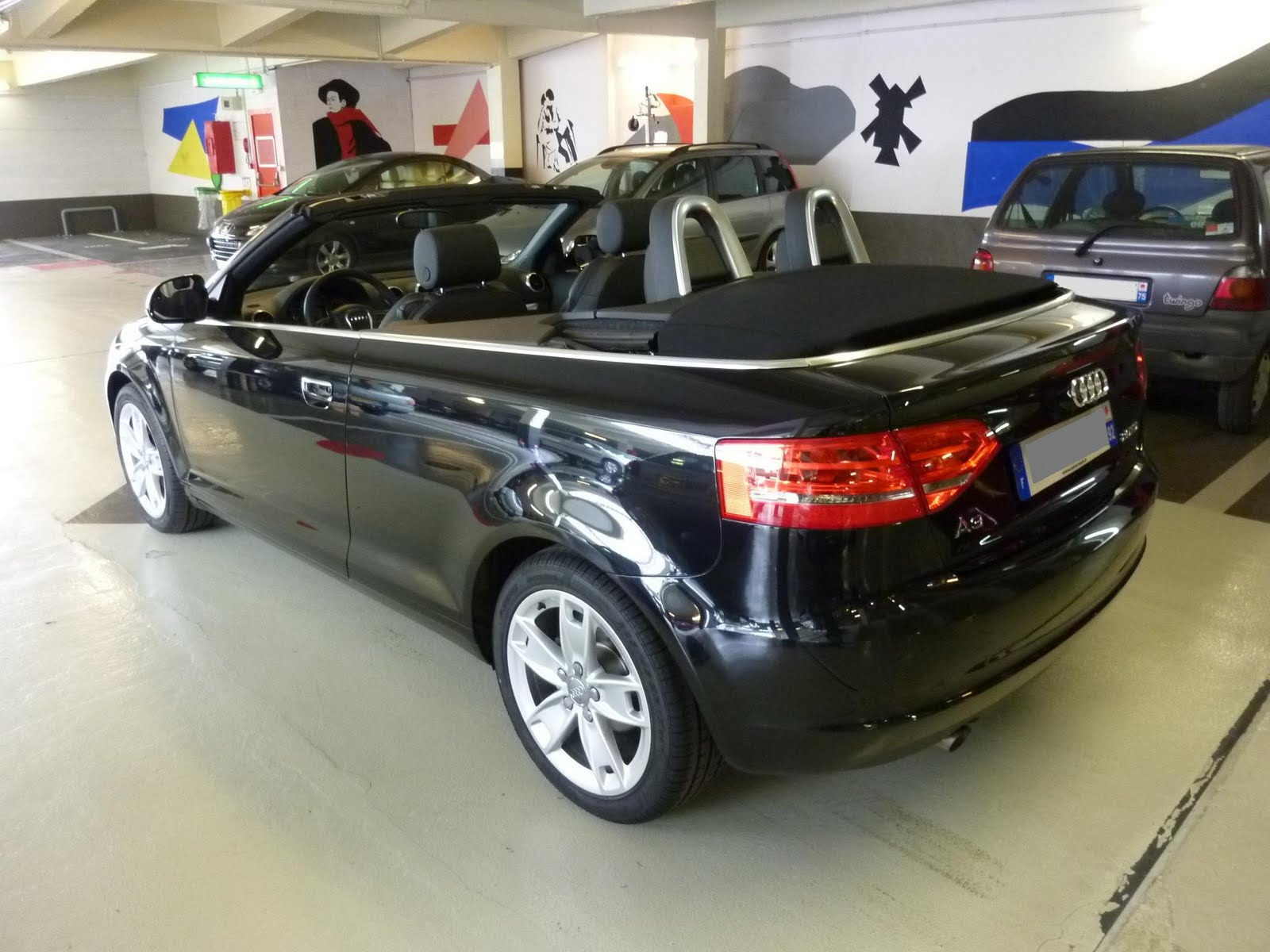 autocoach d p t vente automobile paris audi a3 cabriolet 2 0l tdi 140ch ambition 2010. Black Bedroom Furniture Sets. Home Design Ideas