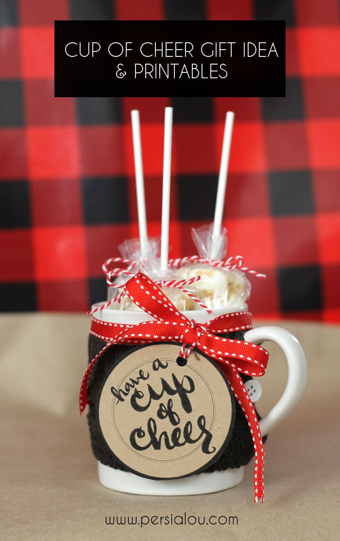 Diy Hot Chocolate Gift Idea And Free Printable Yellow