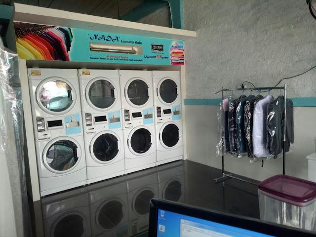Paket Mesin Laundry Koin