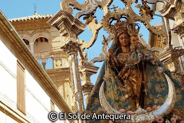 La Virgen del Rosario saldrá en procesión el 7 de octubre
