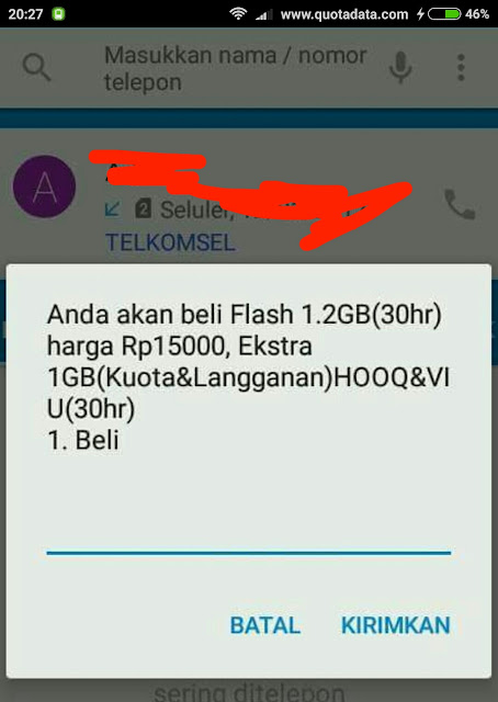 Paket Telkomsel Flash 1.2GB 15rb Terbaru