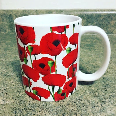 Society6 Red Poppy Mug