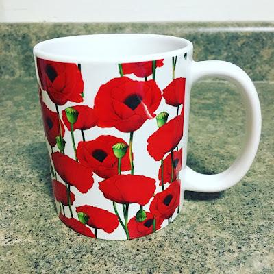 Society6 Red Poppy Mug