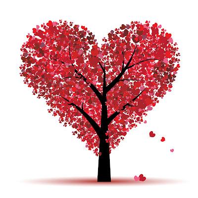 arbre en forme de coeur