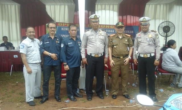 Razia Samsat Depok dan Polsek Jaring 118 Penunggak Pajak