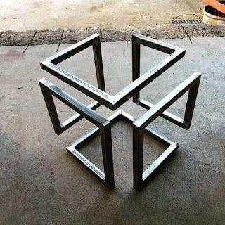 Desain karya logam yg unik dan keren