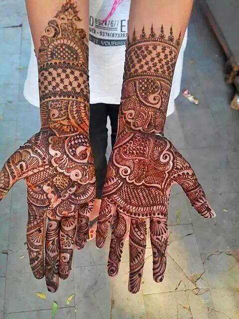 10 Stunning Mehndi Designs For Wedding