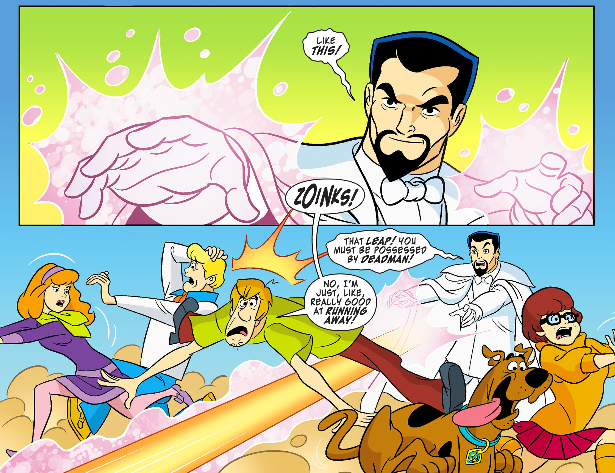 Read online Scooby-Doo! Team-Up comic -  Issue #26 - 4