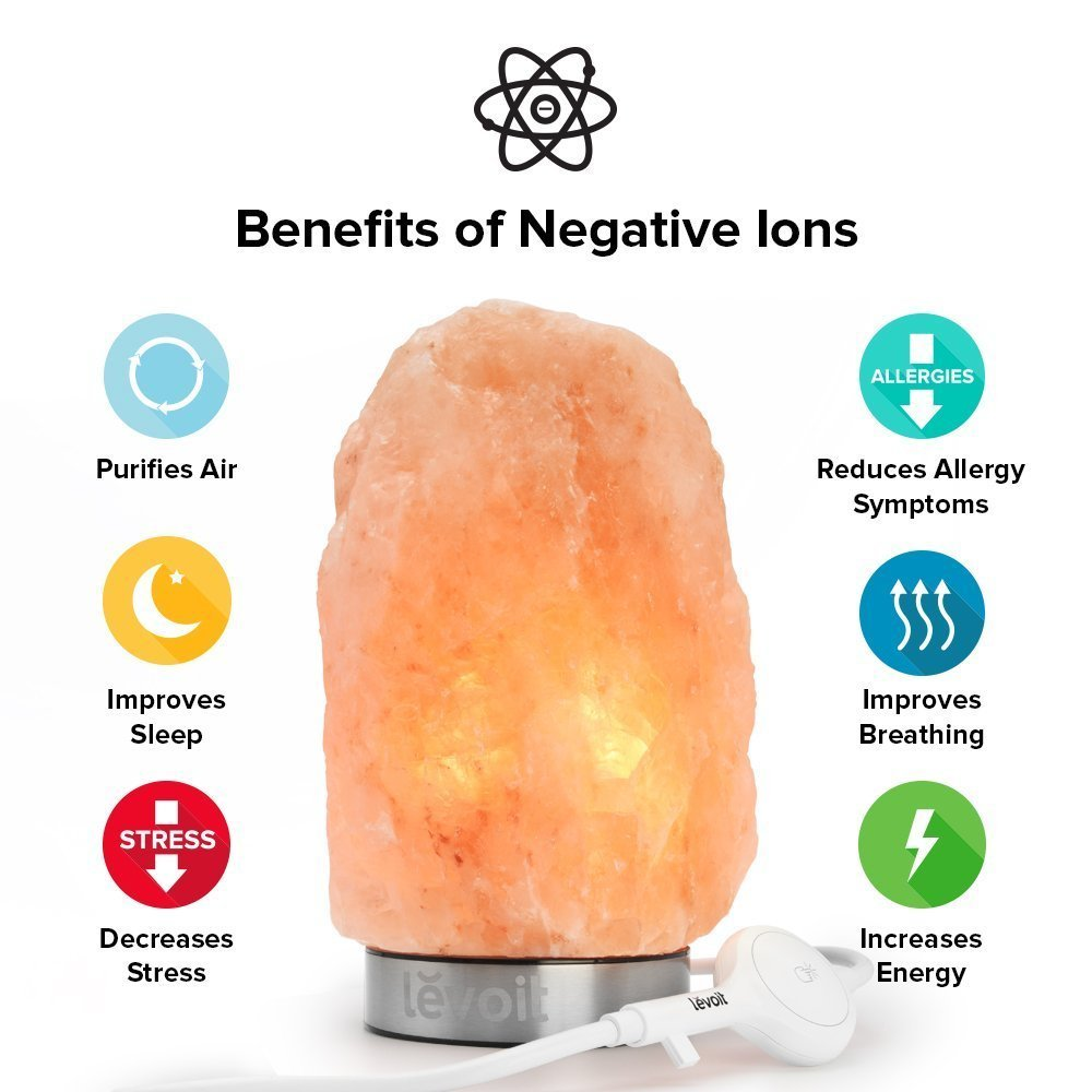 Do Salt Lamps Do Anything : Levoit Hand Carved Natural Himalayan Crystal Salt Lamp Giveaway Ends 1/31 Easter Babe s Theory