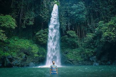 Air Terjun Way Lala'an di Tanggamus
