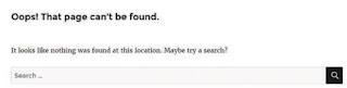 Berkreasi Dengan Halaman Error 404