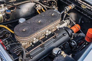 1960 Ferrari 250 GT Coupe Car Engine 01