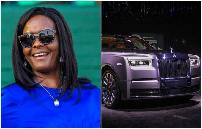 Grace Mugabe reportedly buys Rolls-Royce in SA