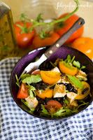 (salatka z grilowanym kurczakiem