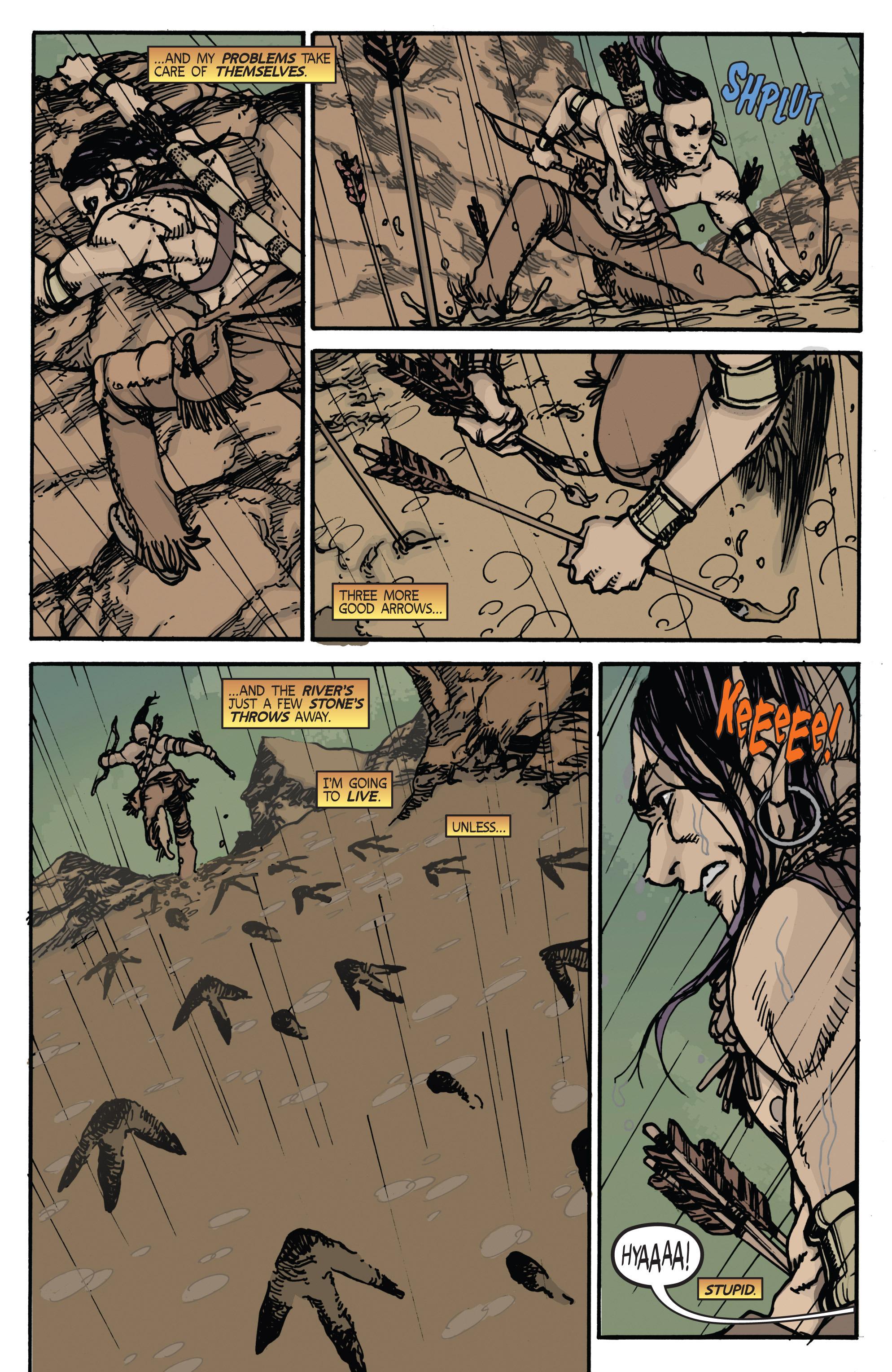 Read online Turok: Dinosaur Hunter (2014) comic -  Issue # _TPB 2 - 8
