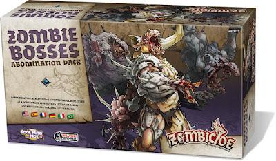 Zombicide Black Plague - Abomination Pack