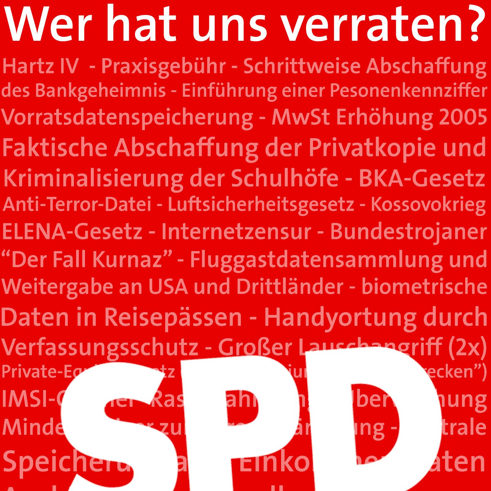 Wer Hat Uns Verraten Die Sozialdemokraten