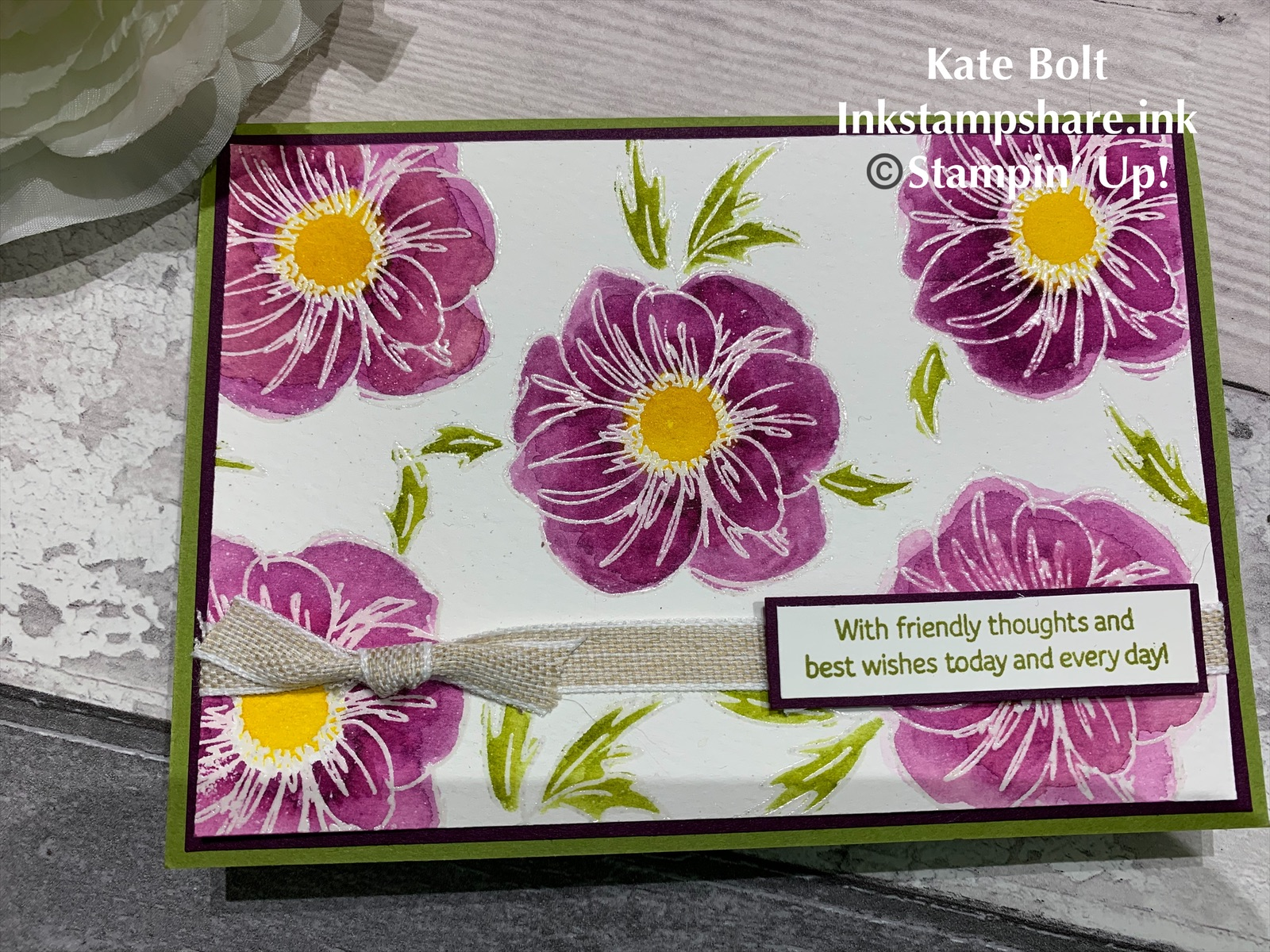Inkstampshare Floral Essence Stampin Up New Product Sneak Peek