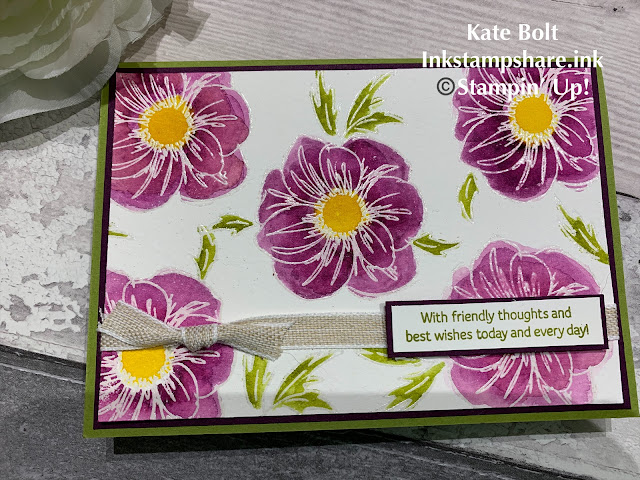 Floral Essence  Card- New Product Stampin Up