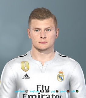 PES 2019 Faces Toni Kross by Shenawy