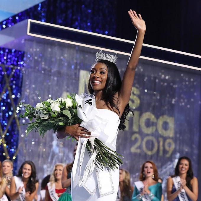 Nia Franklin Crowned 2019 Miss America!