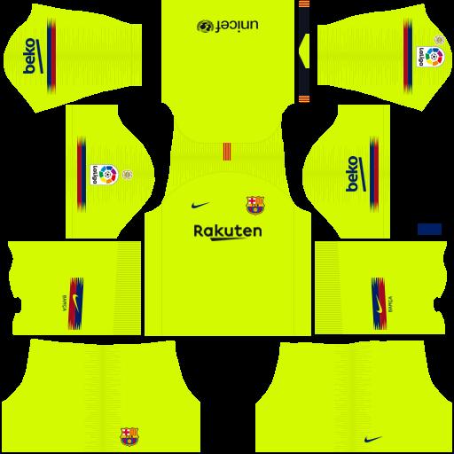 Fc Barcelona Uniforme Dream League Soccer