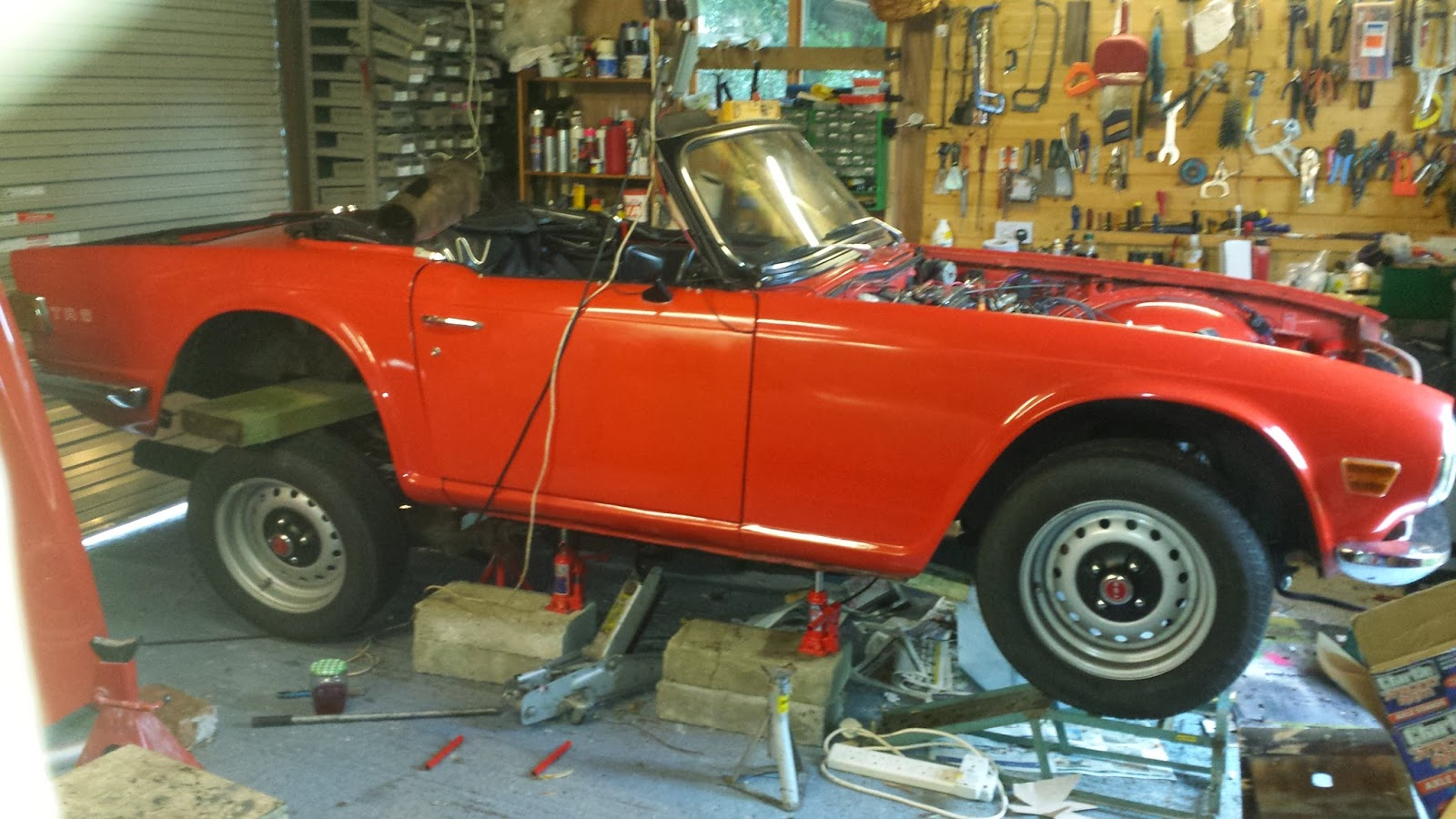 Tr6 Chassis Replacement And More