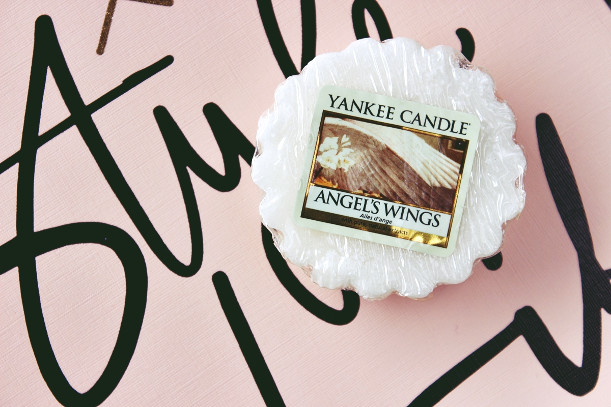 wosk yankee candle angel wings