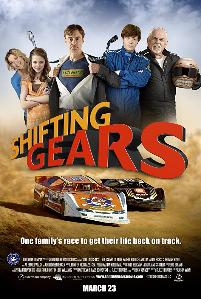 Shifting Gears 2018 English Movie Web-dl 720p With E-sub