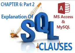 Detailed explanation and illustration of SQL clauses