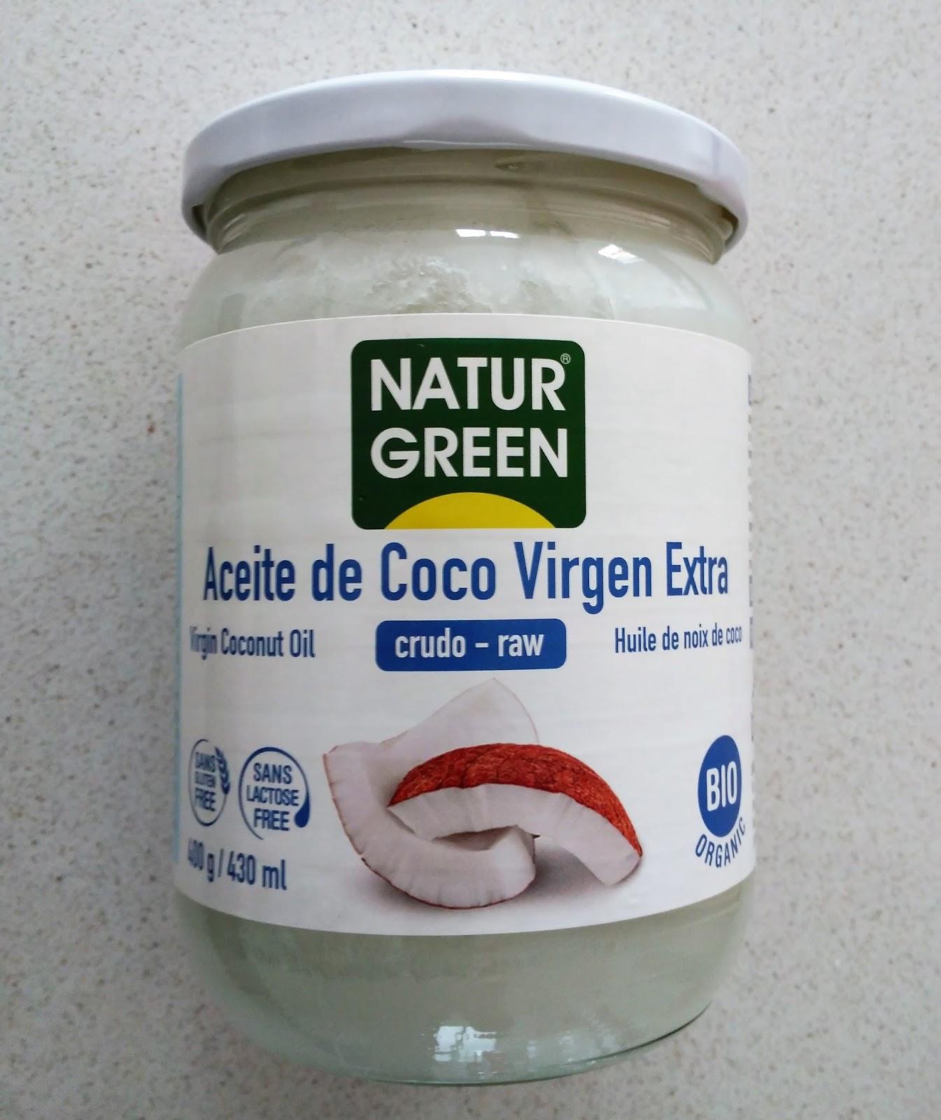 Aceite de coco virgen extra canada