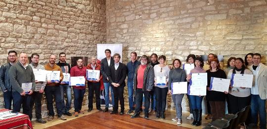 La Generalitat entrega 19 distintivos Sicted a empresas y servicios públicos de once municipios de Els Ports