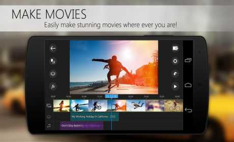 Aplikasi Video Editor Android: PowerDirector APK