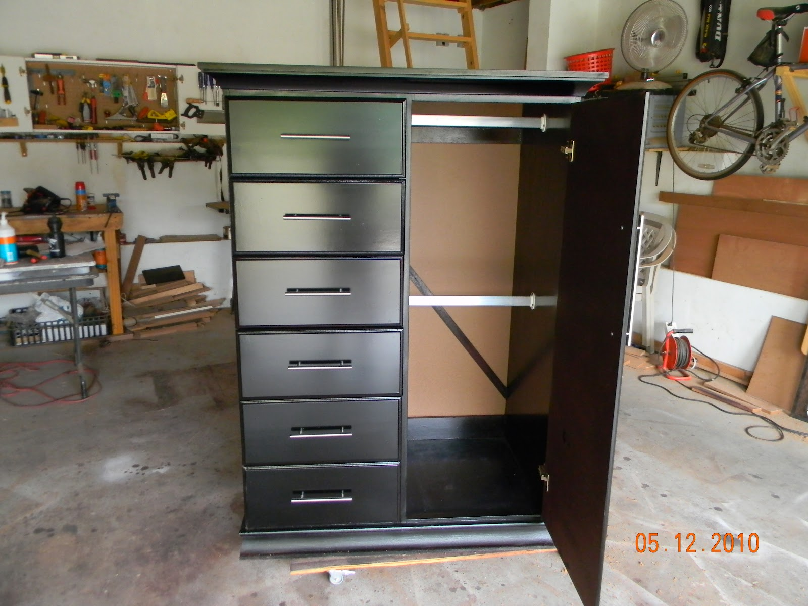 Custom Carpentry Tall Boy Stand Alone Closet