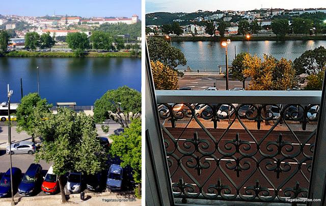 Vista dos apartamentos do Hotel Astoria - Coimbra, Portugal