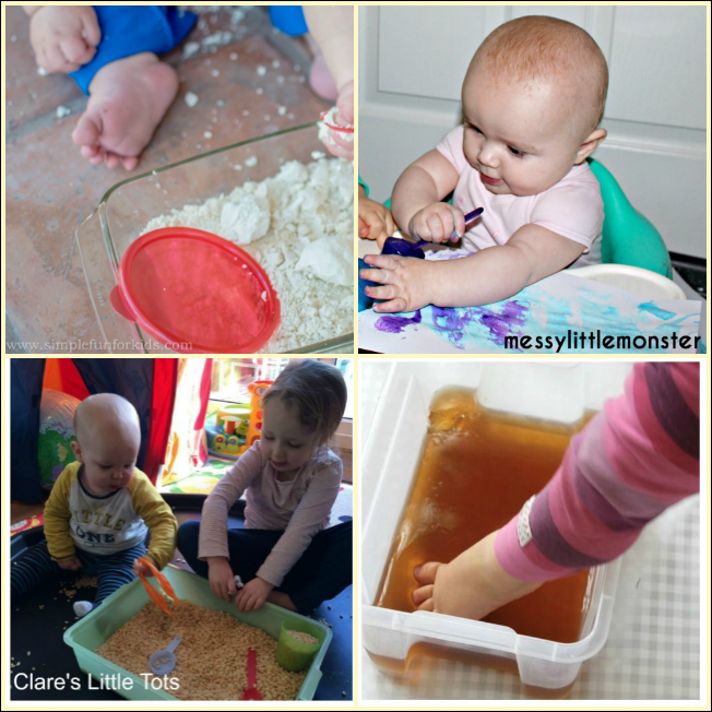 10 Taste Safe Messy Play Ideas For Babies Sand In My Toes