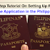 Step By Step Tutorial On Setting Up Passport Application Online in the Philippines