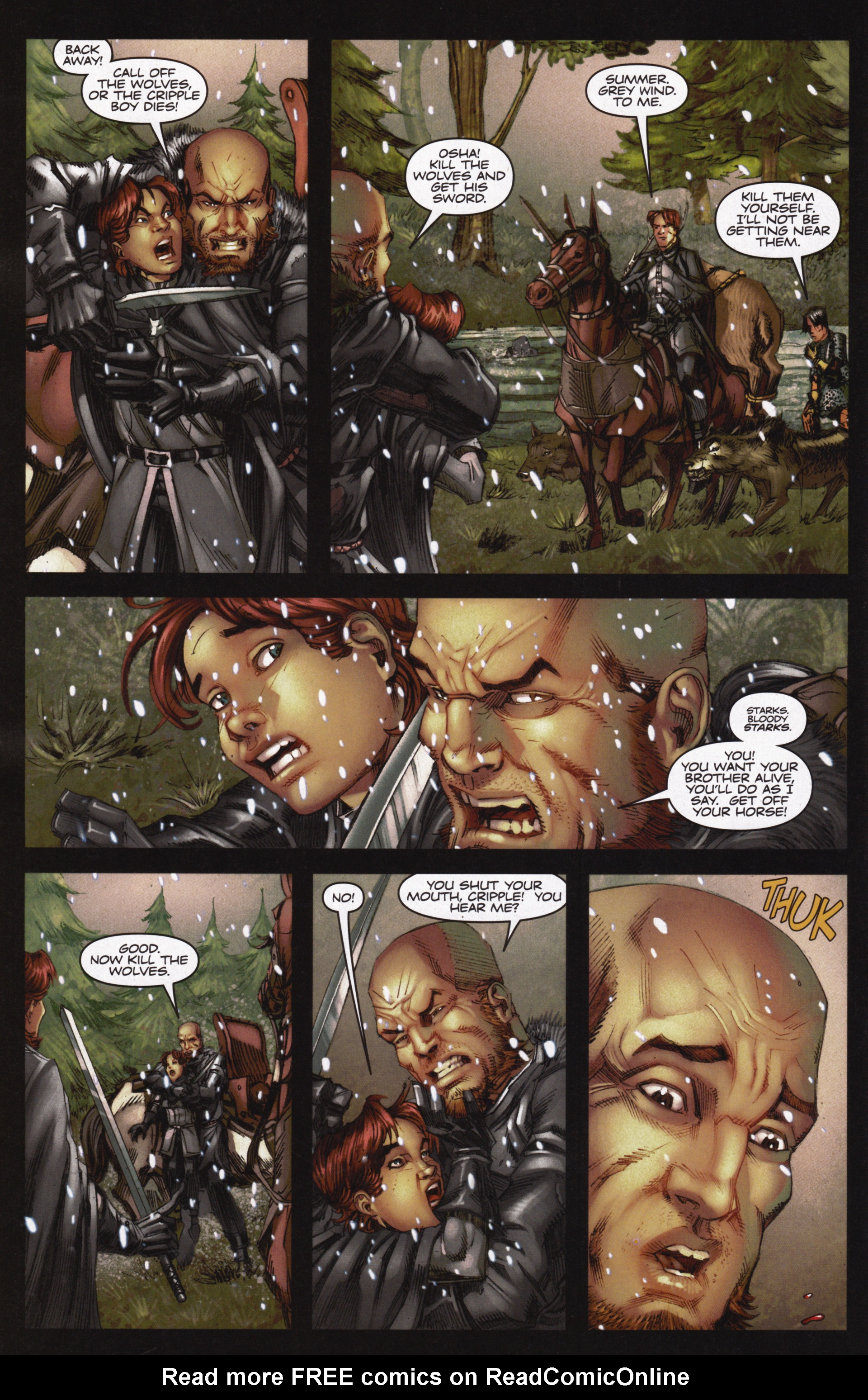 Read online A Game Of Thrones comic -  Issue #12 - 12