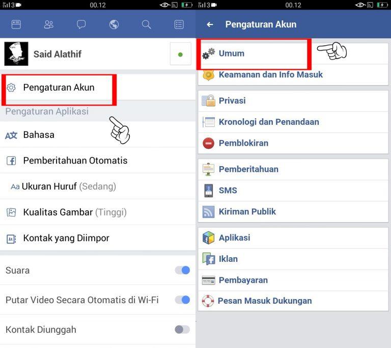 Cara Menutup Akun Facebook Dengan Mudah Babang Info