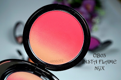 ombre blush insta flame