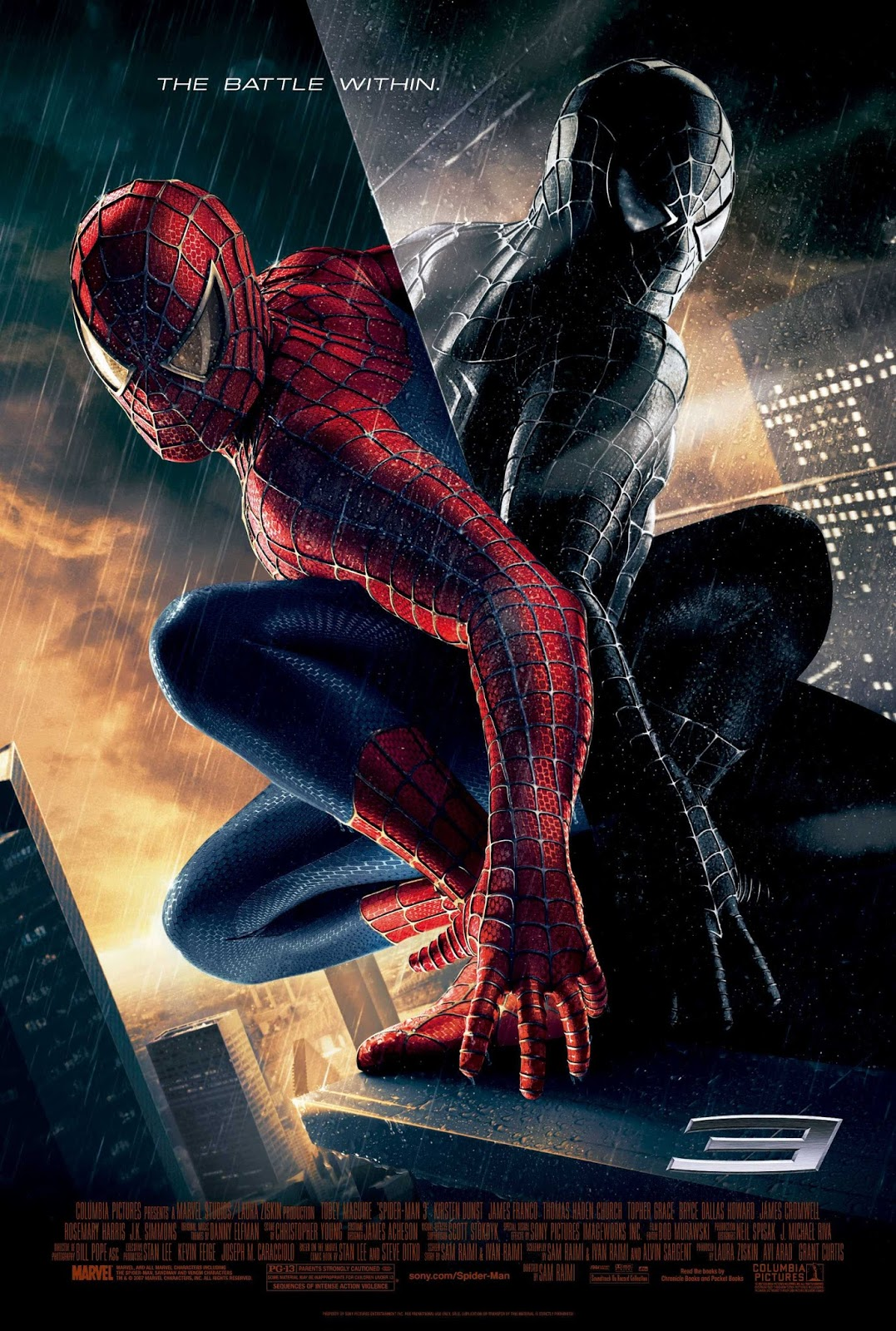 SpiderMan 3 (2007) 480p Hindi BRRip Dual Audio Full Movie 300MB