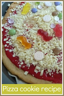 How to make a pizza cookie treat