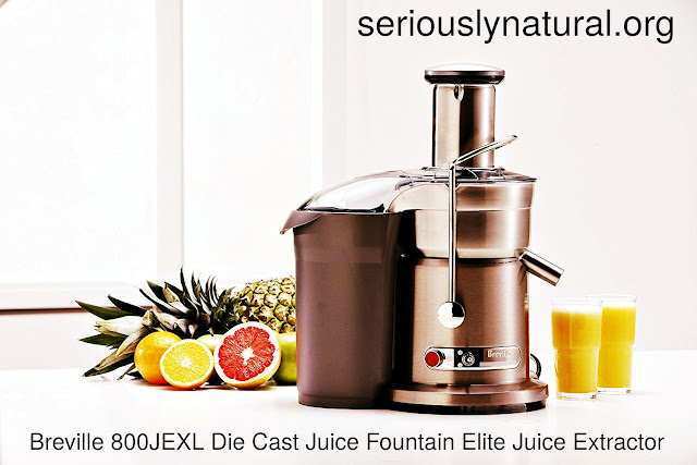 Click here to buy the Breville 800JEXL Juicer, Juice Fountain Elite for the perfect Mother's Day gift!