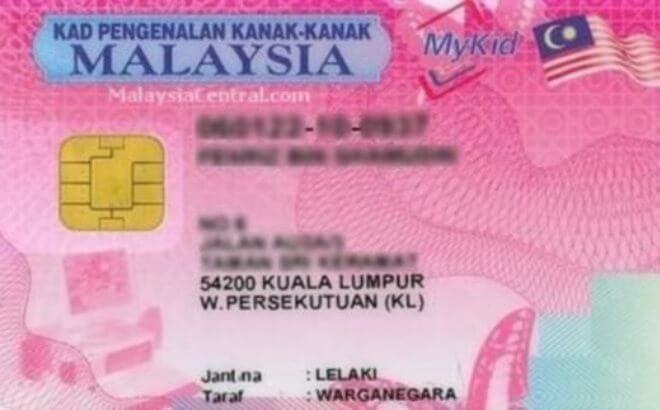 Sejarah Dan Jenis-jenis Kad Pengenalan Di Malaysia