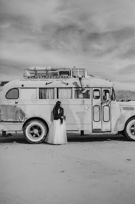 Vestido de novia con largo a ras de suelo