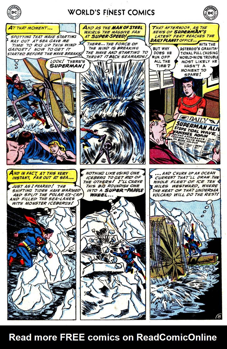 Read online World's Finest Comics comic -  Issue #68 - 10