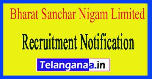 BSNL (Bharat Sanchar Nigam Limited) Recruitment Notification