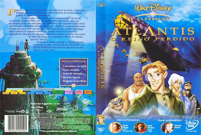 Capa DVD ATLANTIS O REINO PERDIDO