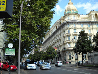 The Excelsior Hotel is a landmark on the Via Veneto