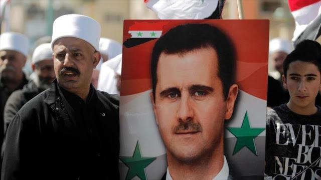 Informe: Al-Asad ganó la guerra en Siria, su salida es imposible